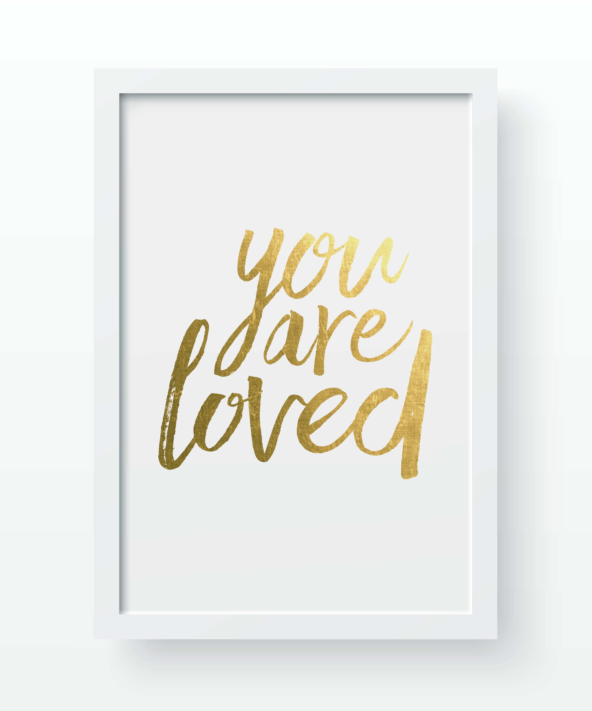You Are Loved Art Print - $30 with 100% of the proceeds going directly to our Syrian refugee family.
