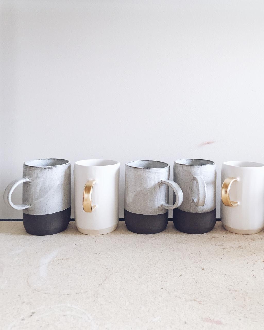 Ceramic Mugs by Arrow & Sage