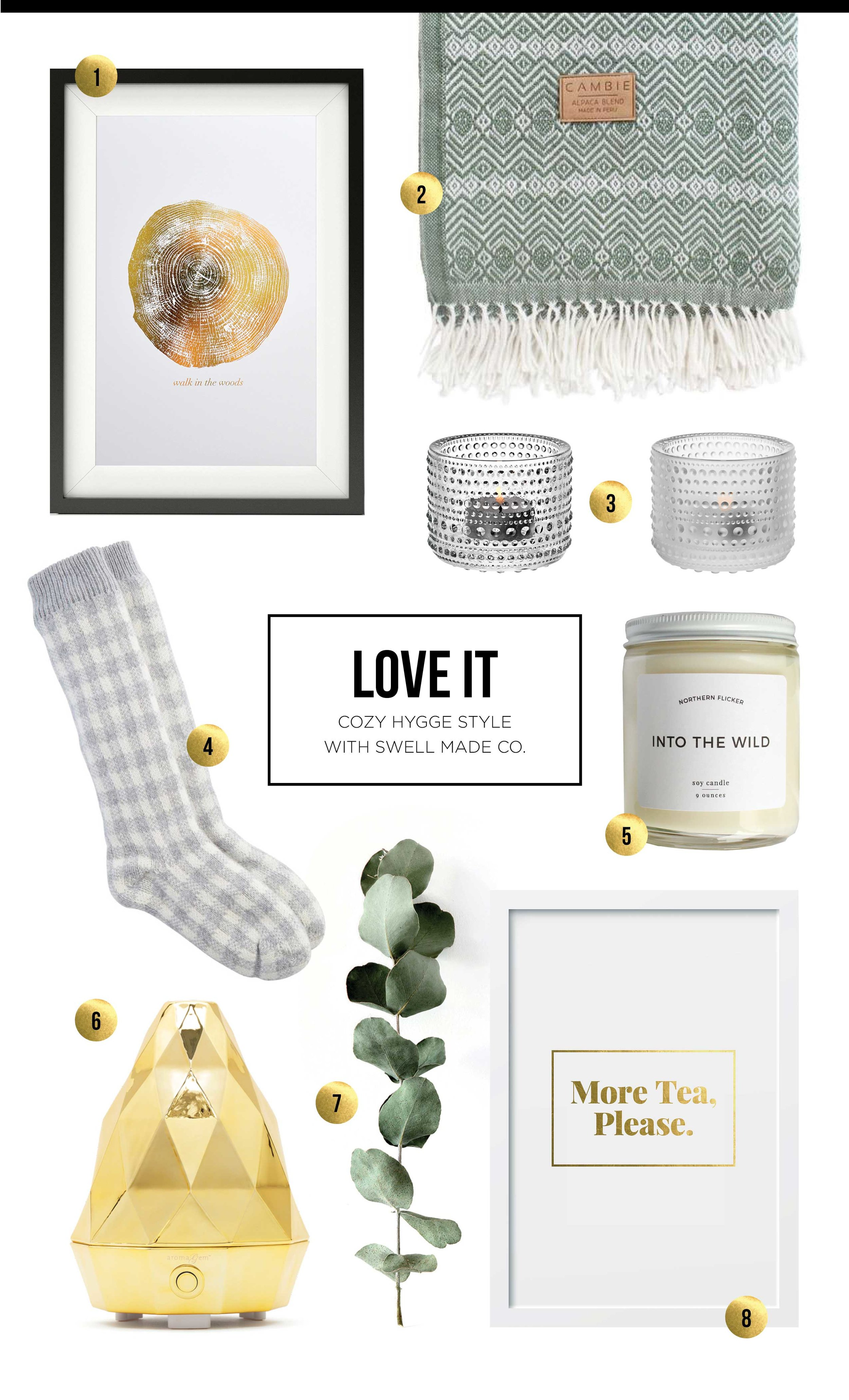 LOVE IT - Cozy Hygge style with Swell Made Co.