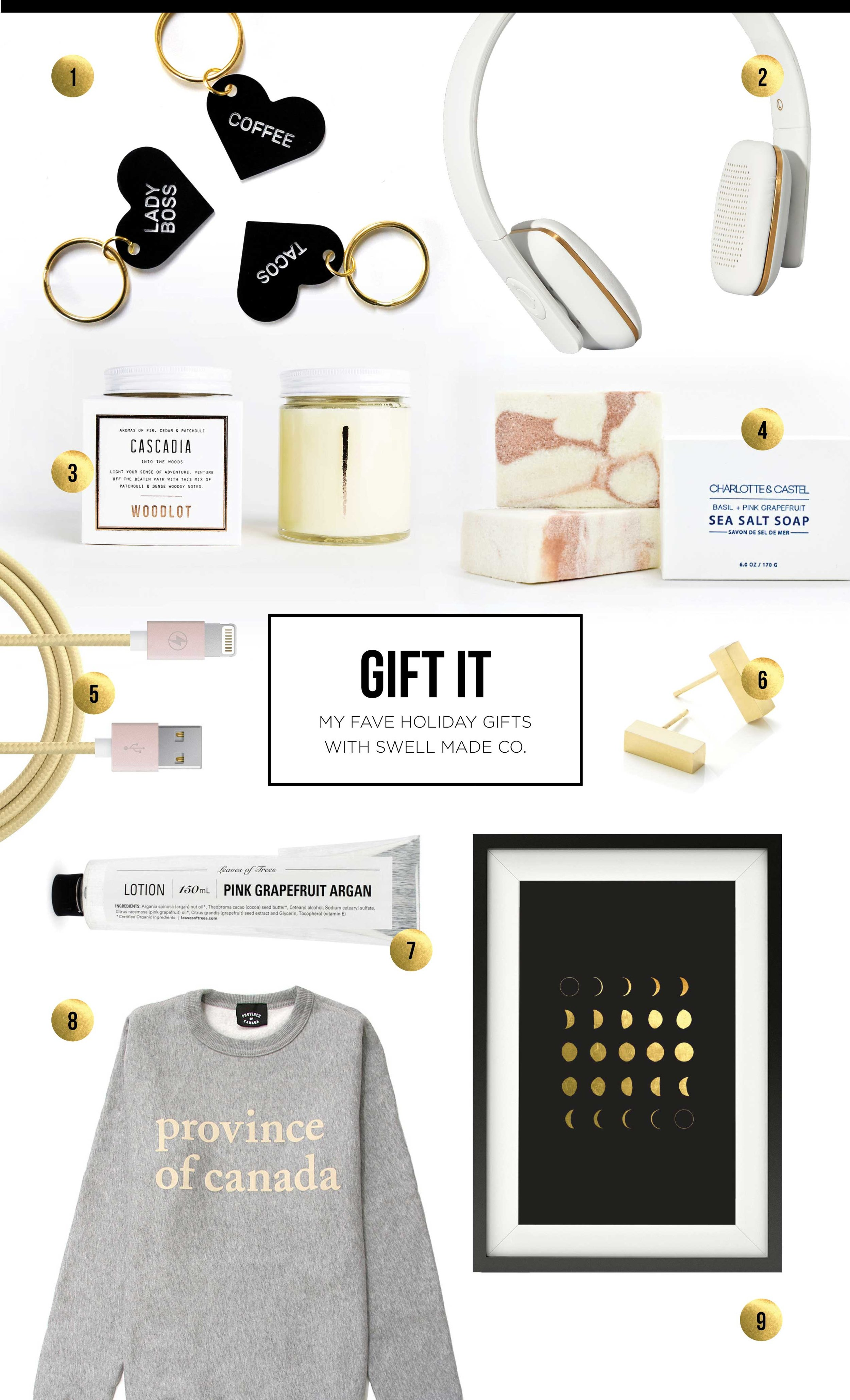 LOVE IT - My fave holiday gifts with Swell Made Co.