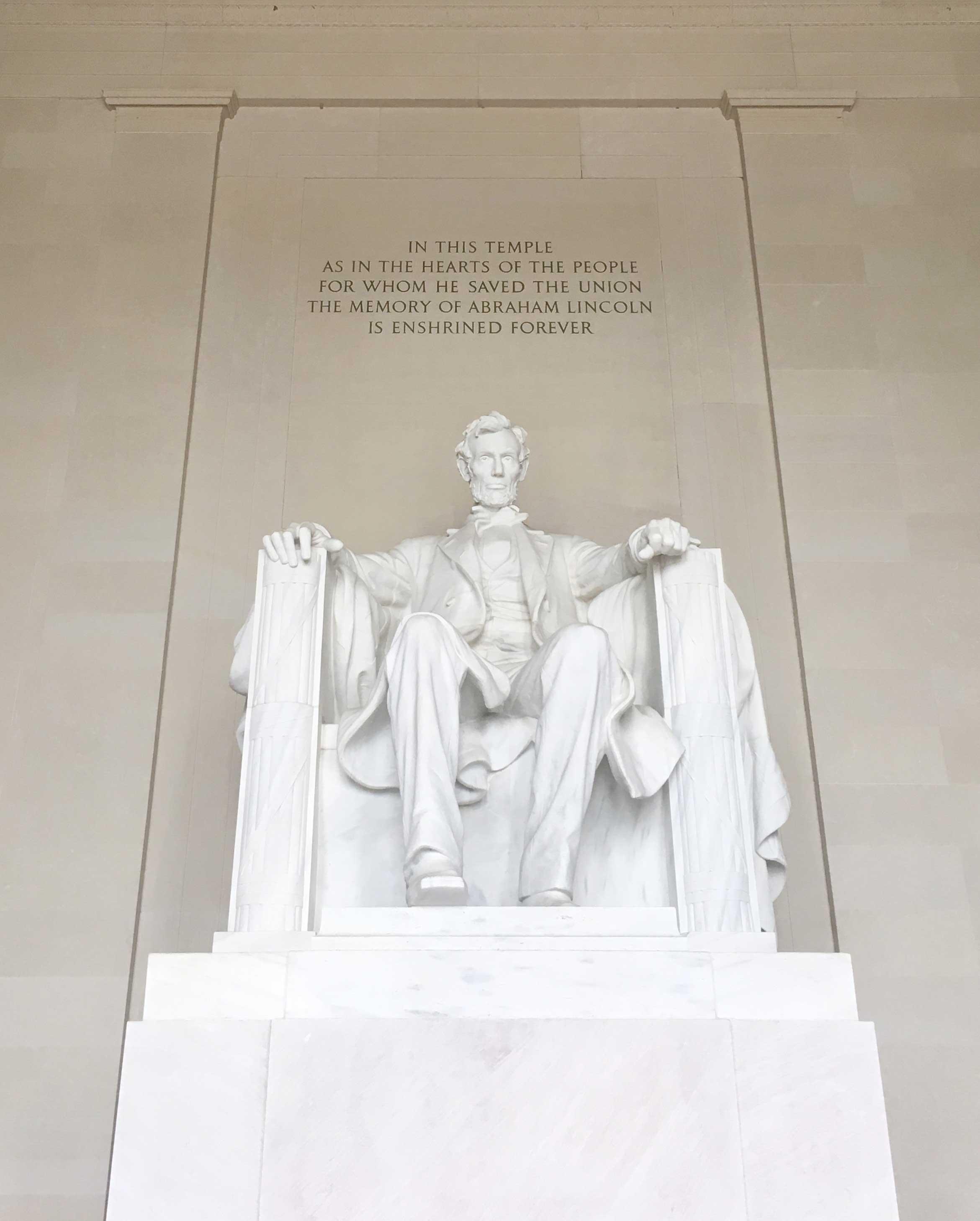 Lincoln Memorial in Washington D.C.