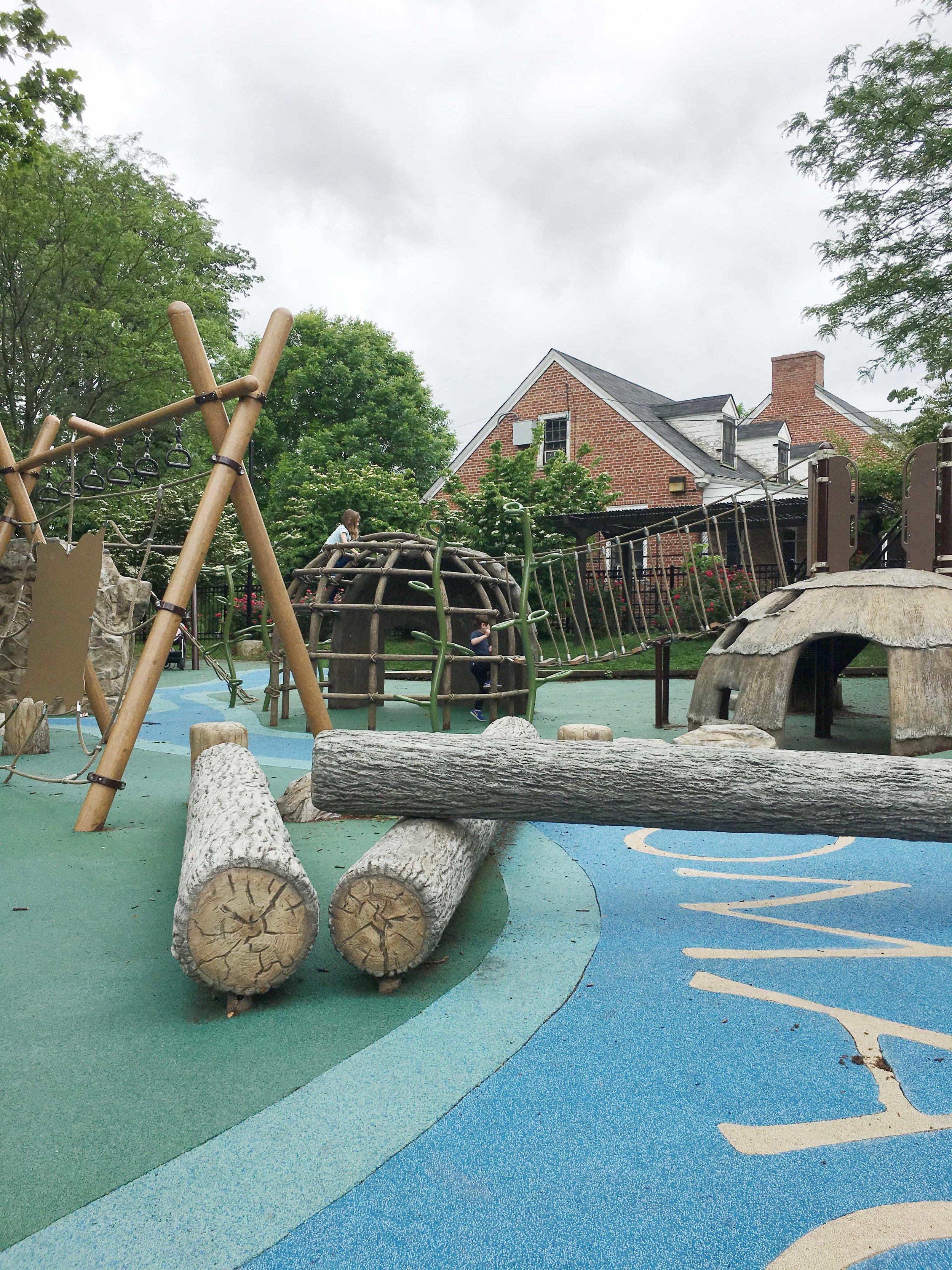 Palisades Playground in Washingston D.C.