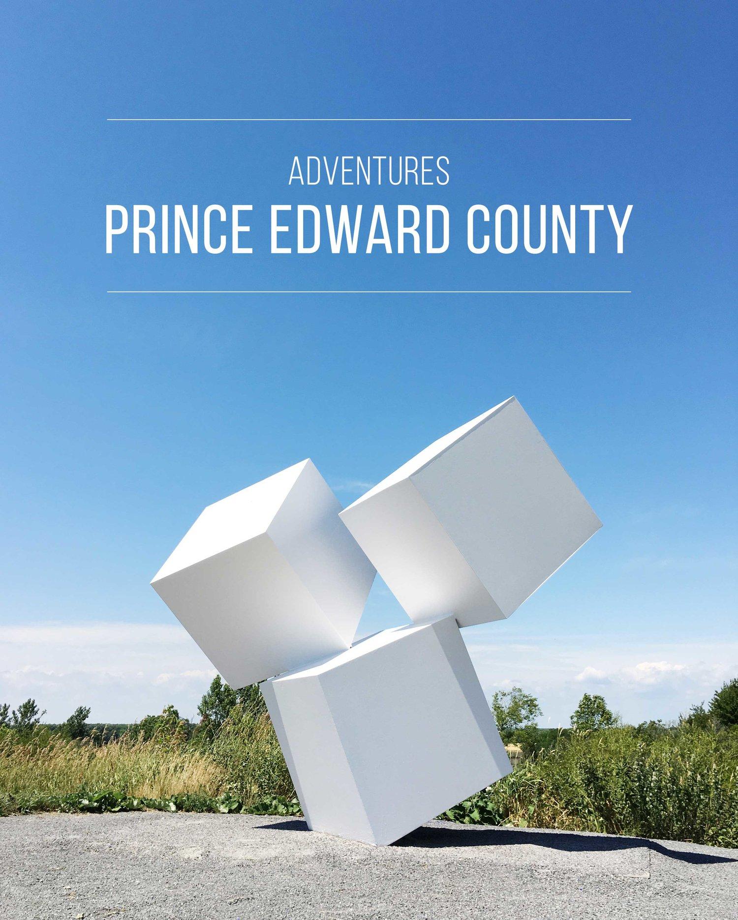 Adventures | A Guide to Prince Edward County, Ontario.