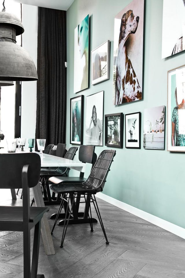 Mint + Black Combination of 2017 by Apartment Therapy.