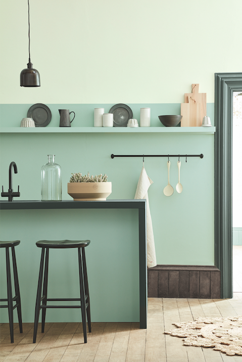 The best paint colours to use in your home in 2017 and 2018.