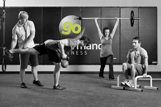 goStrength Training  Enjoy the benefits of working with Fitness professionals while sharing the cost with other clients. A great way to get the special attention from a fitness coach to focus on more technical exercises while being pushed to make results a bigger part of your time spent in the gym.