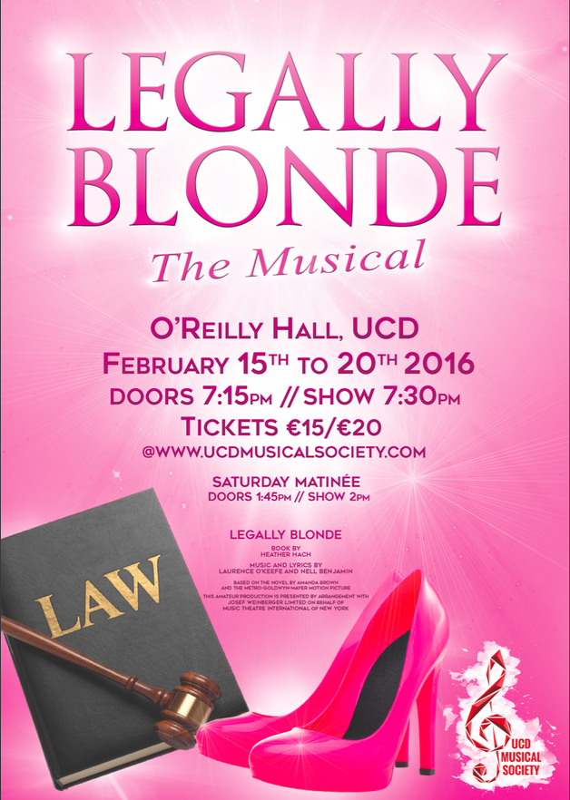 Legally Blonde, February 2016
