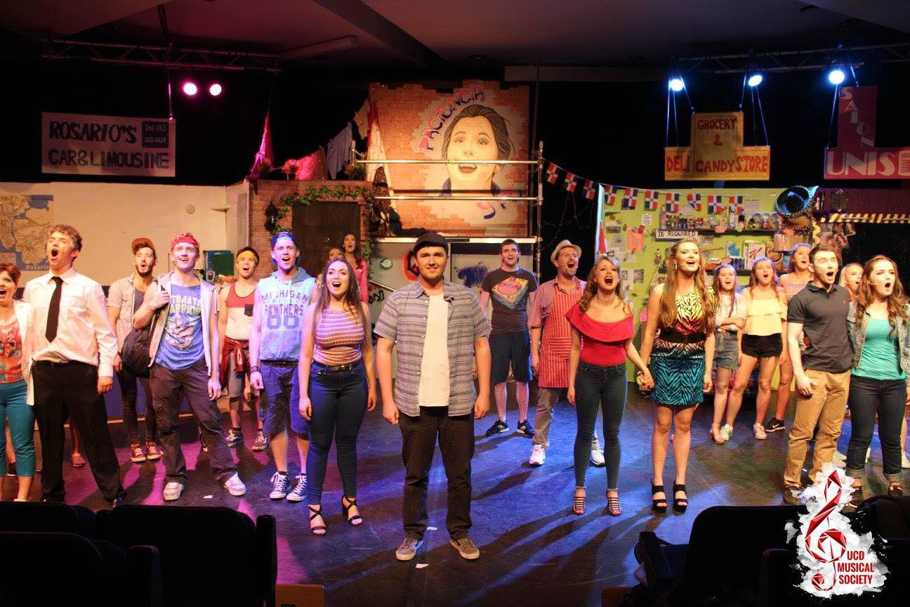 In The Heights was a roaring success for UCD Musical Society with raving reviews from all! Massive thank you to everyone that was involved in bringing this together from production team, cast crew and the 8th session committee, well done to all.  #LightsUp #PacenciaYFe
