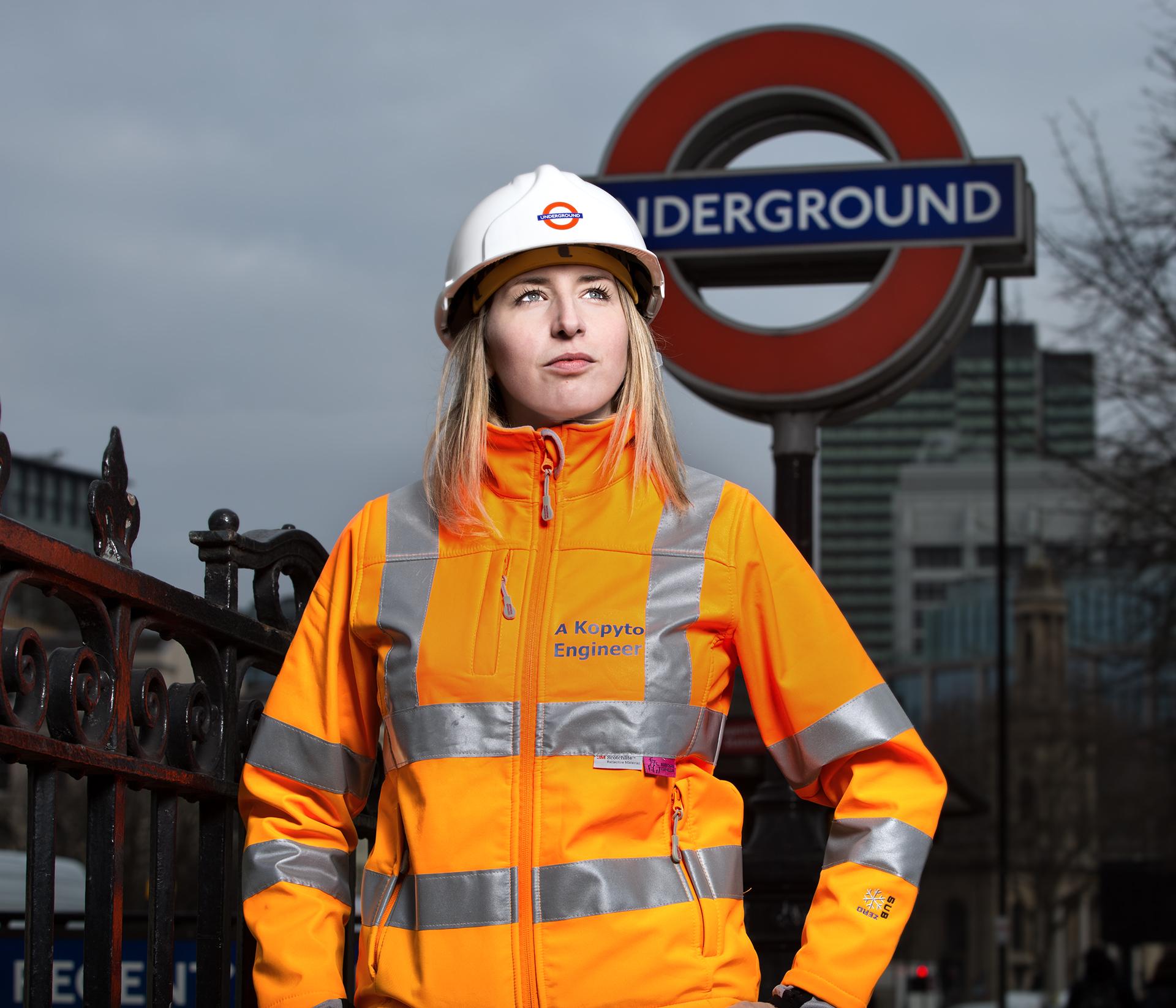 Anna Kopyto / Project Engineer at TfL.