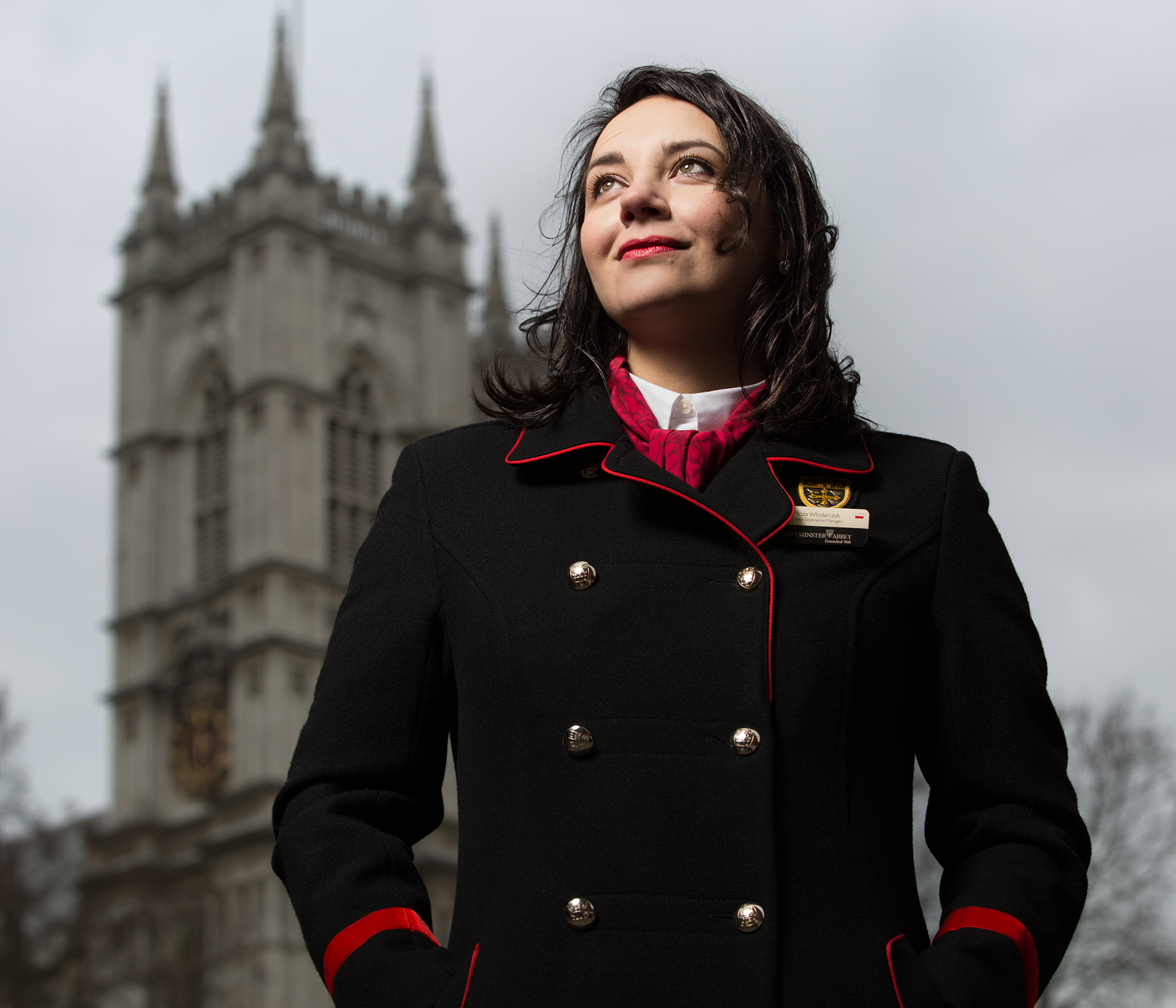Róża Włodarczyk / Visitor Experience Manager at Westminister Abbey.