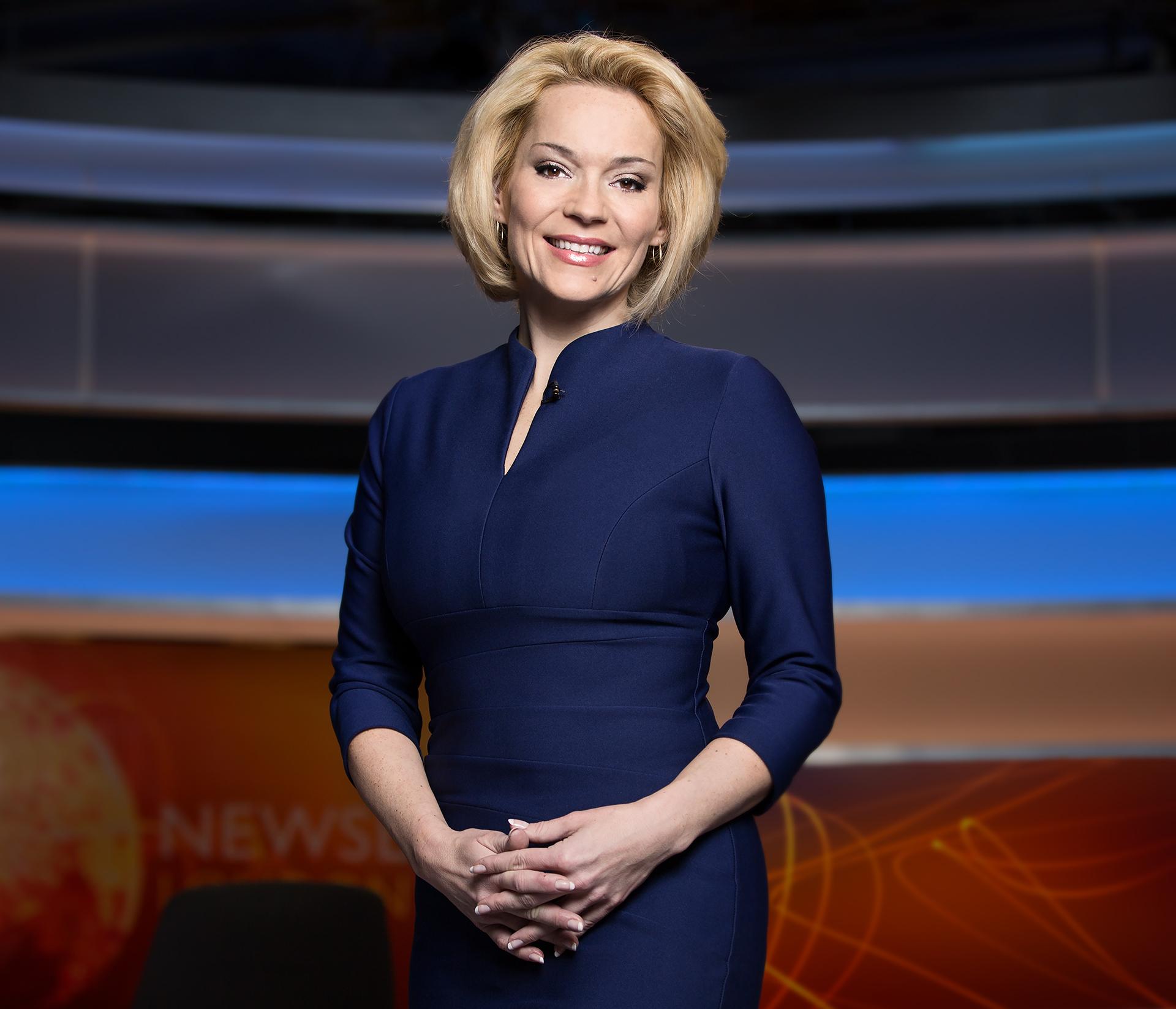 Kasia Madera \ BBC World Presenter.