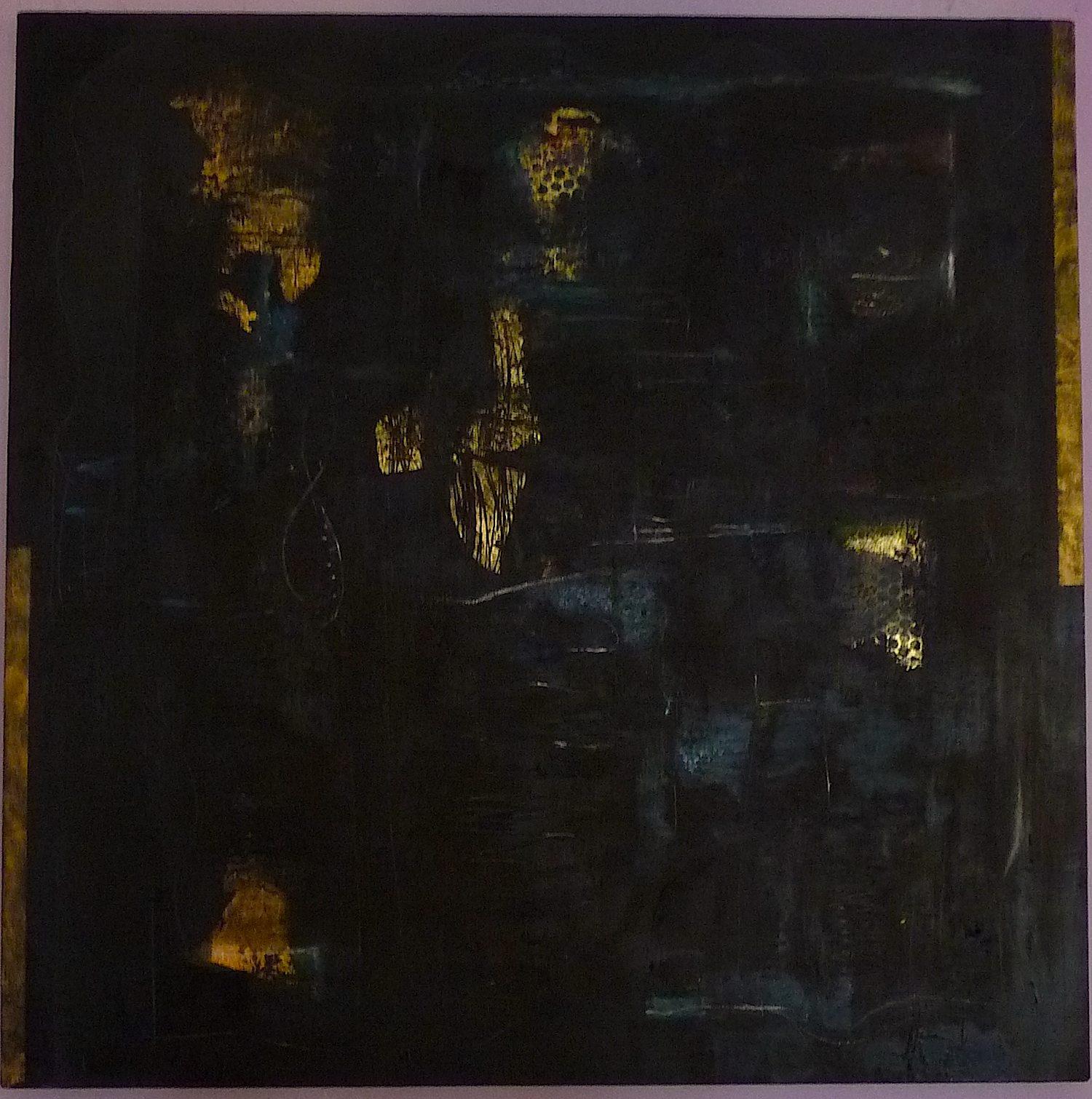 "Golden Path/  36x36"" oil/ 2015"