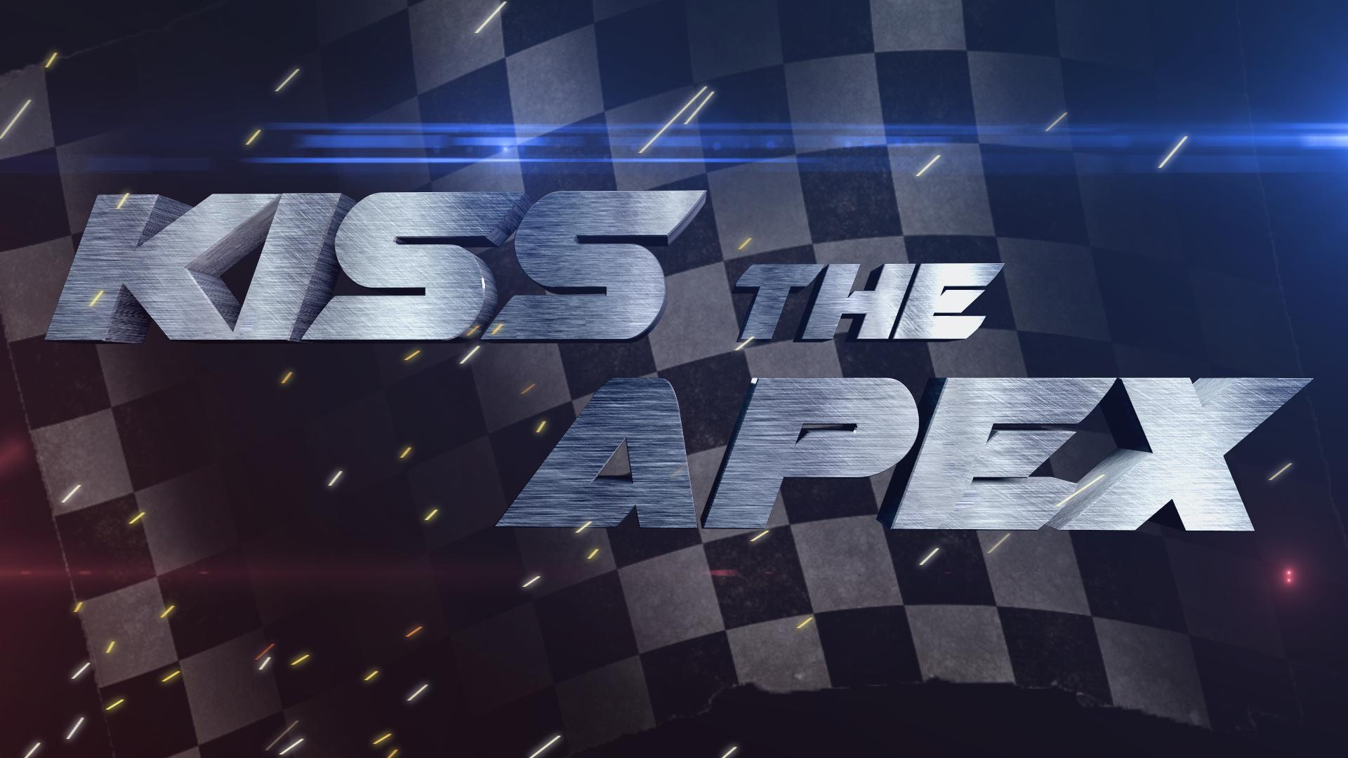 kiss the apex logo