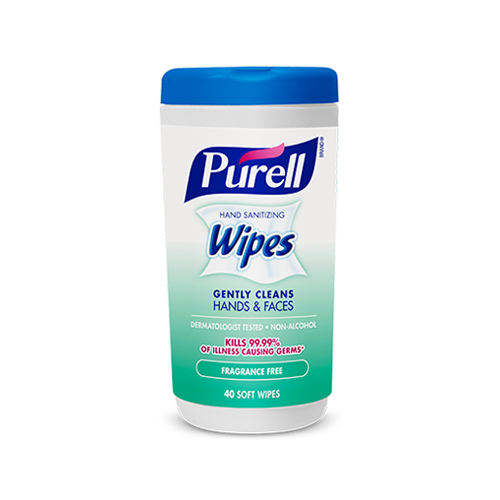 Fragrance Free Wipes  40 Soft Wipes