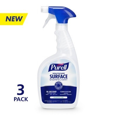 PURELL™ Healthcare Surface Disinfectant     32 fl oz Spray Bottle