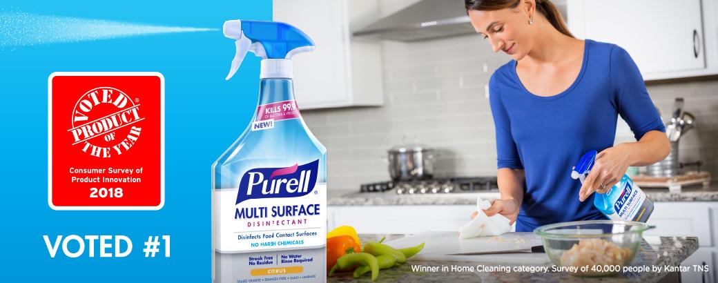 Multi Surface Disinfectant Spray-Q4 — PURELL