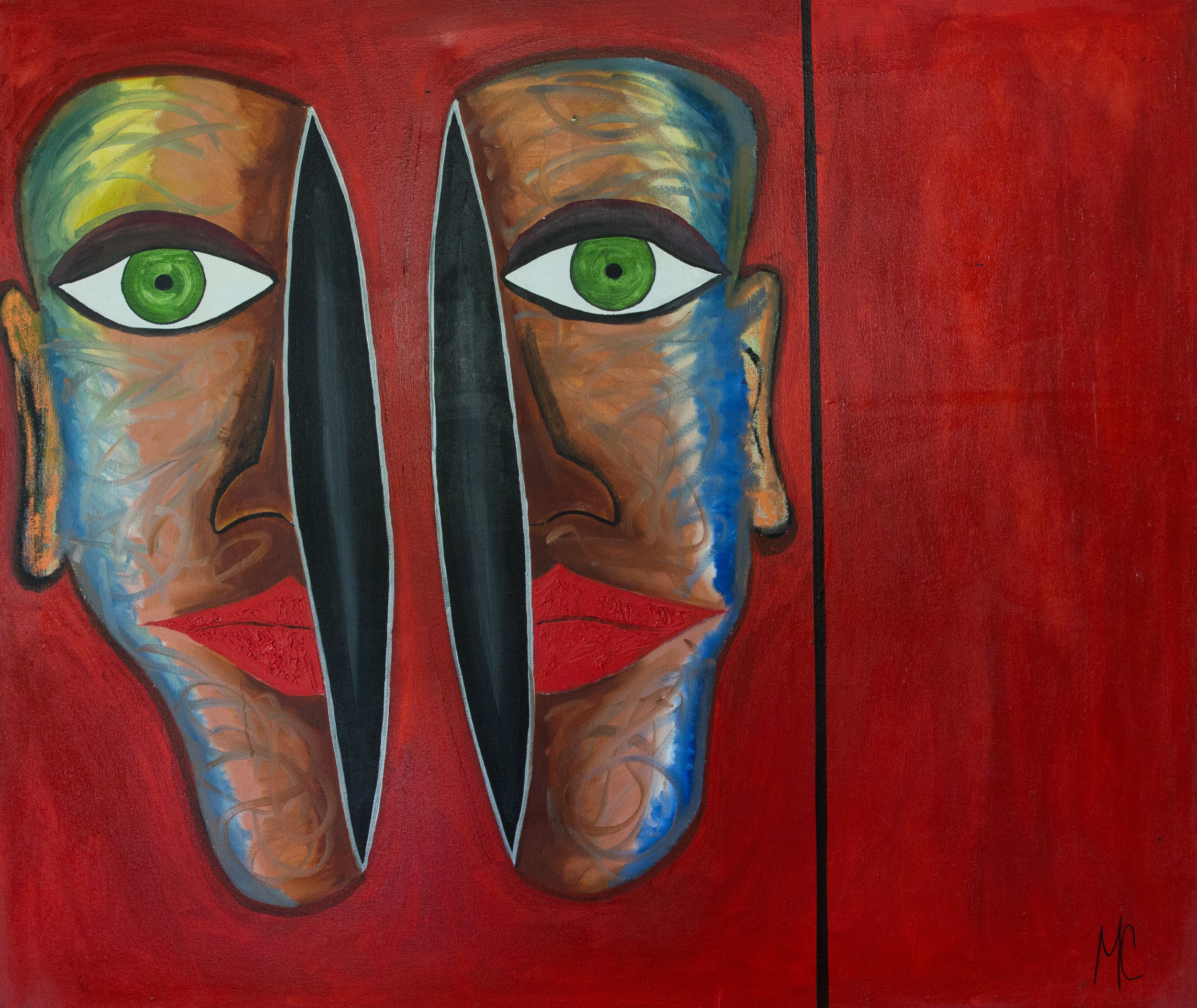RED FACE, OIL ON CANVAS, 48x 56.jpg