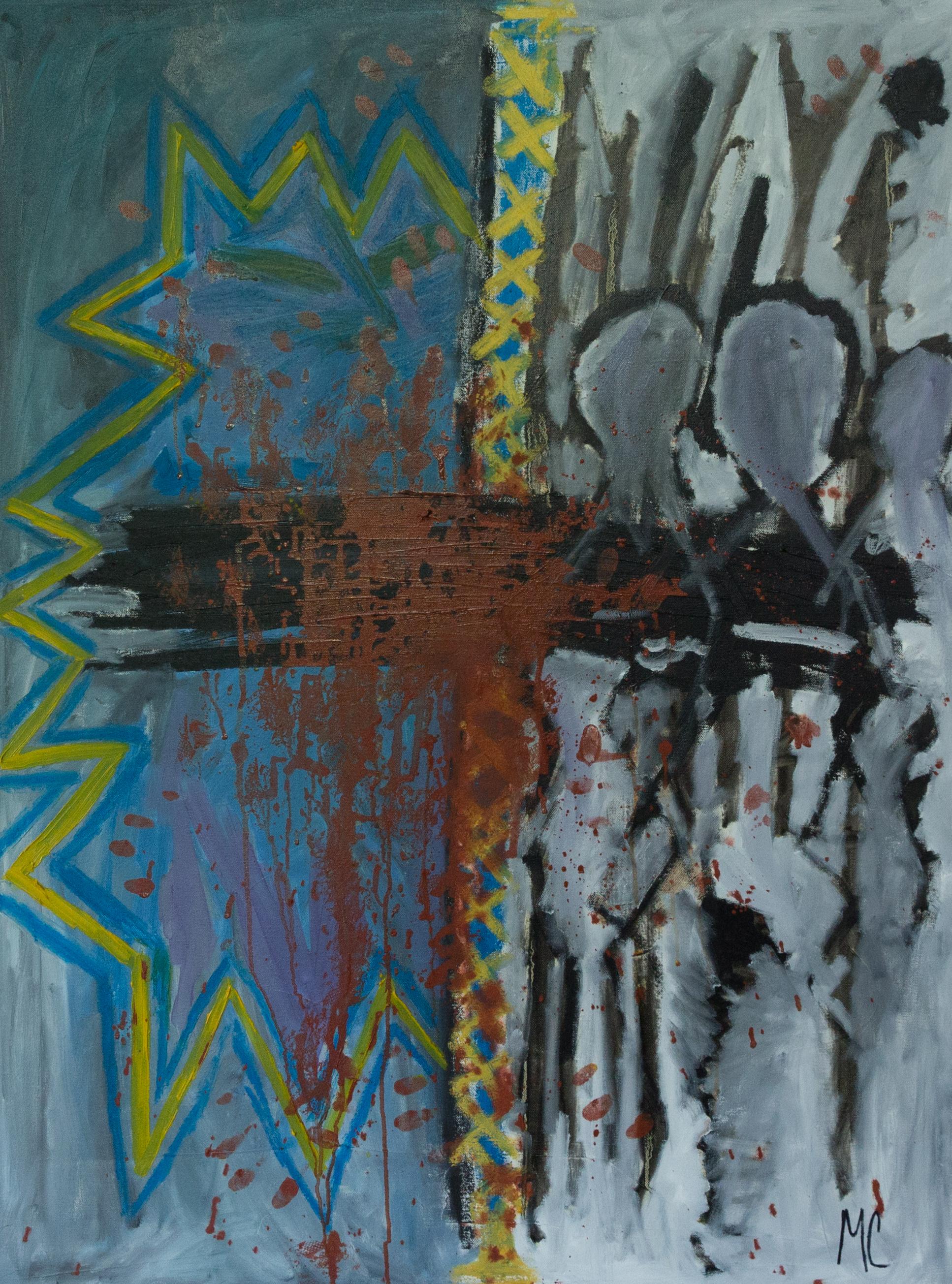 AGAIN, OIL ON CANVAS, 30x40 .jpg