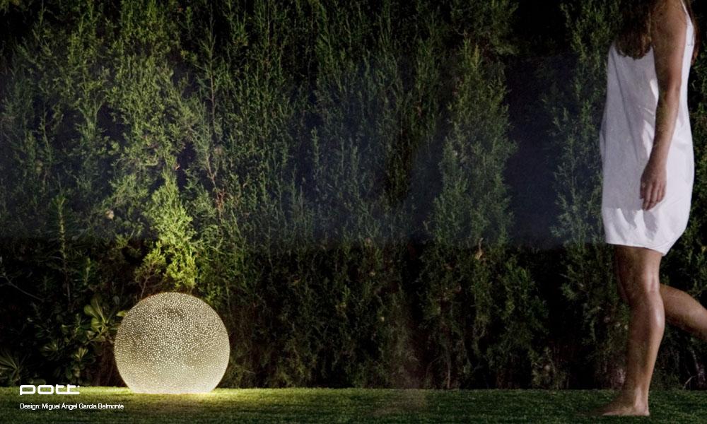 Belysning til hagen - noesdesign