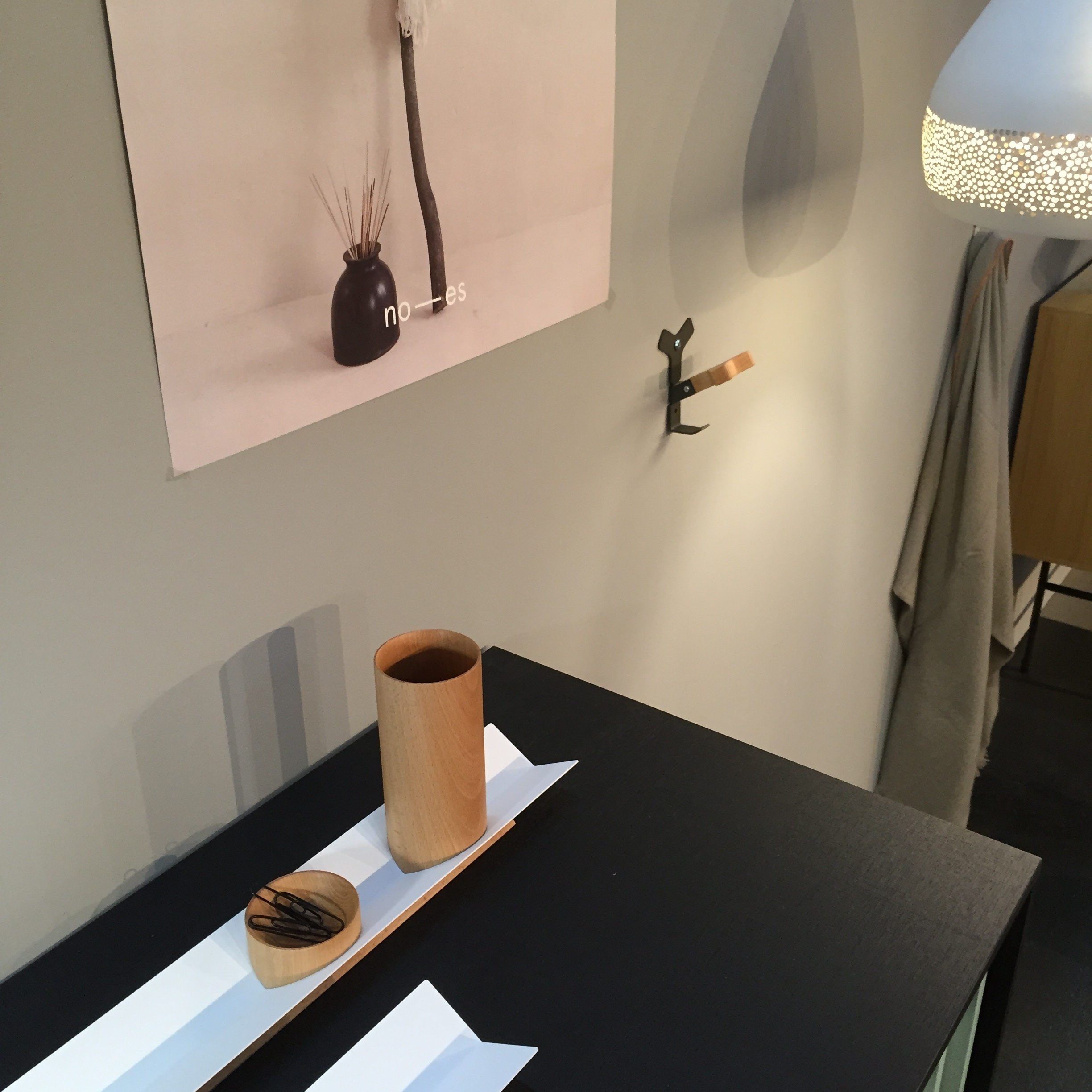 The different brands represented on the stand blended in and stood out at the same time. Noes is proud to be the official design ambassador of  RED  for Spanish design in Norway.