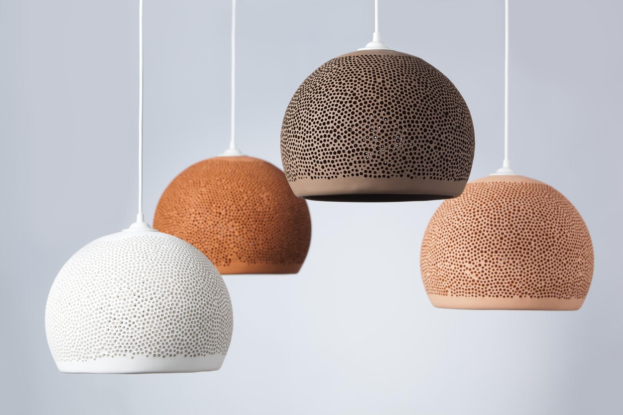 fire farger pott sponge up lamper
