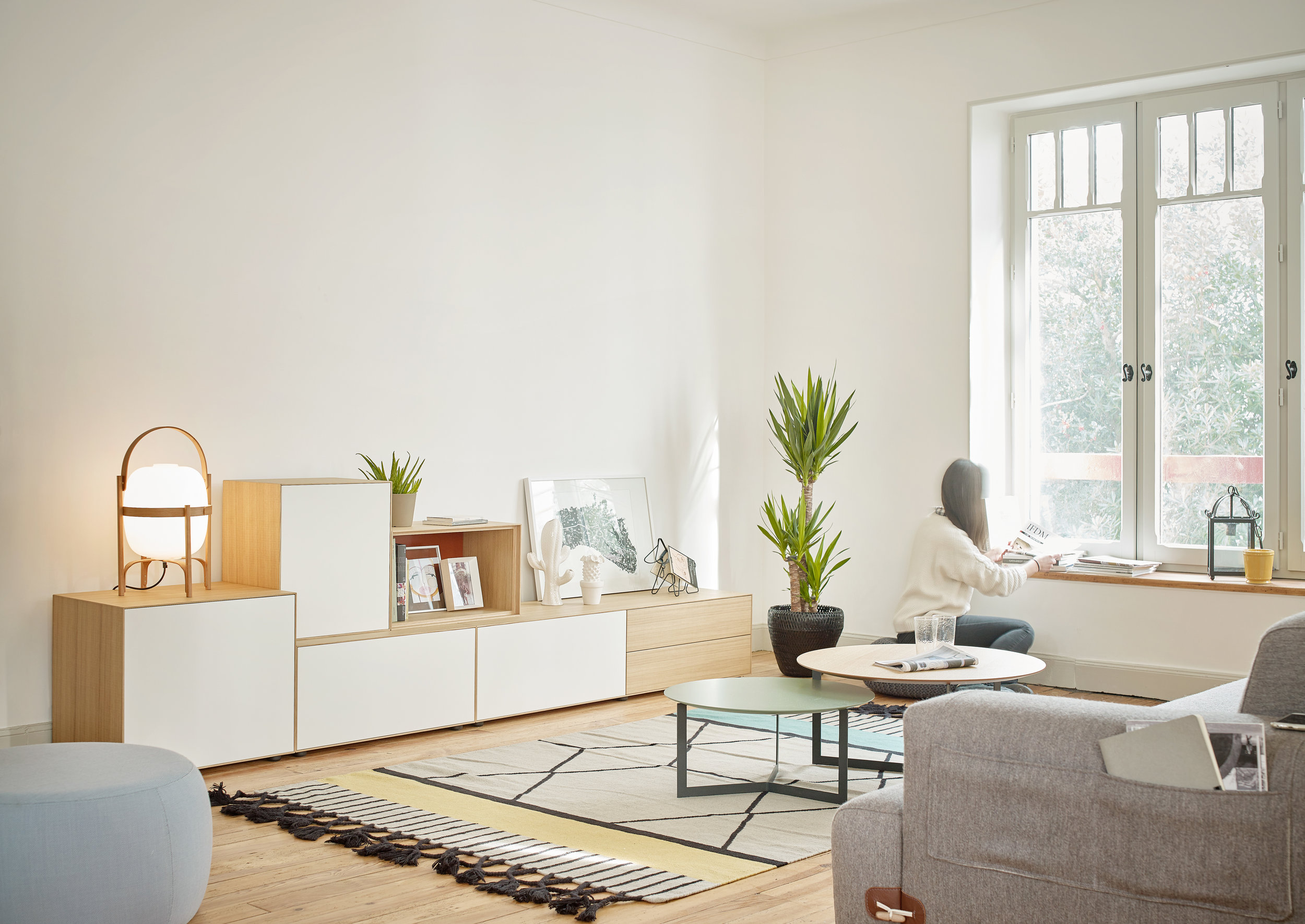 Lauki møbler fra Treku