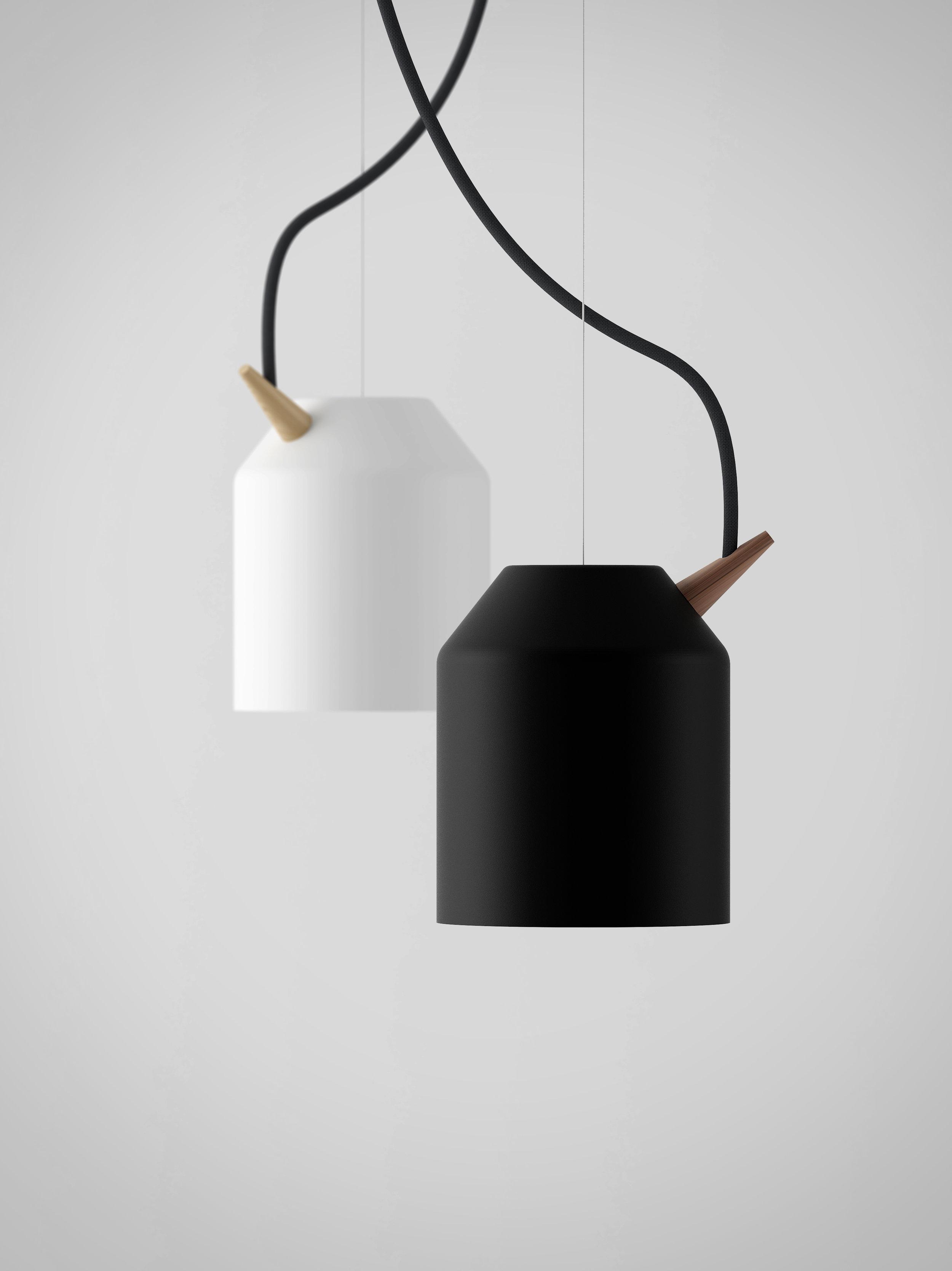 Reeno small i sort og hvit.