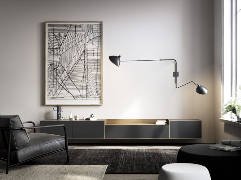 Lauki vises med nye moduler, både for vegg og gulv.