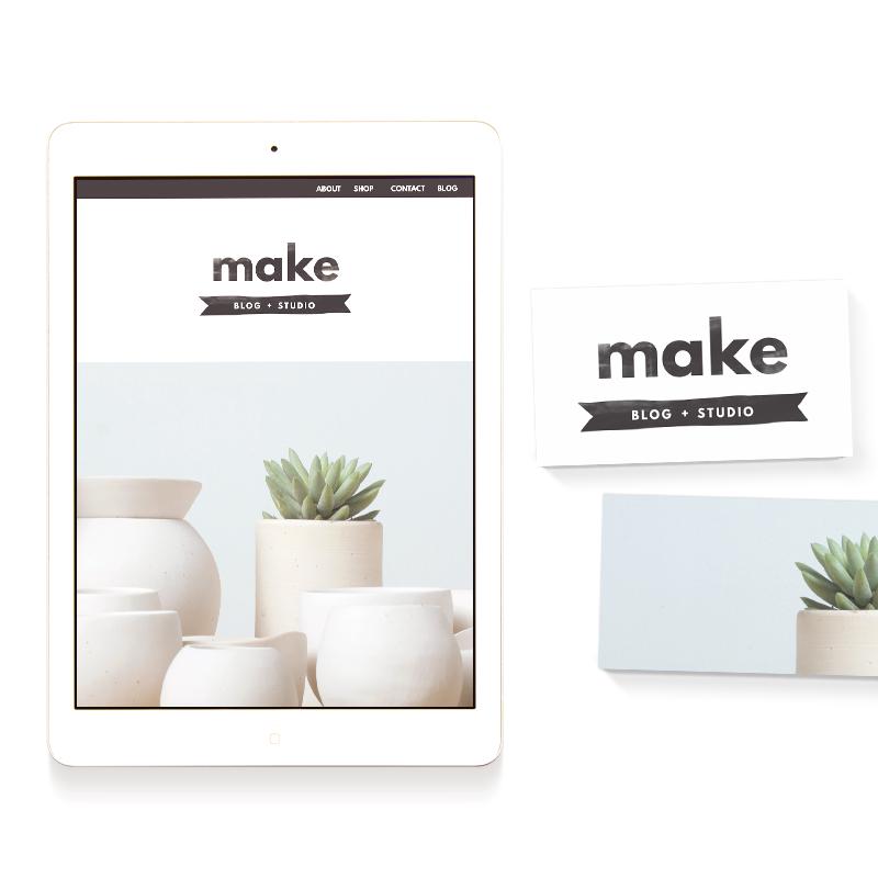 make blog and studio template