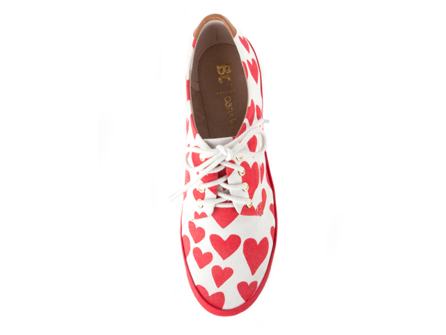 BC Footwear Unicorn Hearts