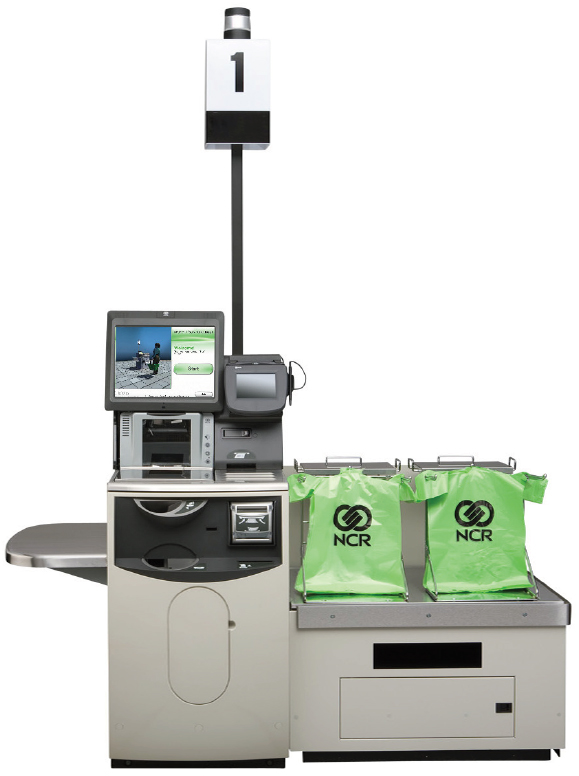 Release 5 Self Checkout - Professionaly installed and serviced by Retail Systems Inc