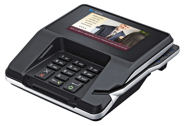 Verifone MX 900 Series - Verifone's MX 900 series delivers a rich media experience with a brilliant color display, powerful processor and generous memory
