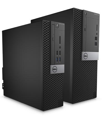 OptiPlex Desktop 3000 Series - Compact and space-saving back office desktop solutions.
