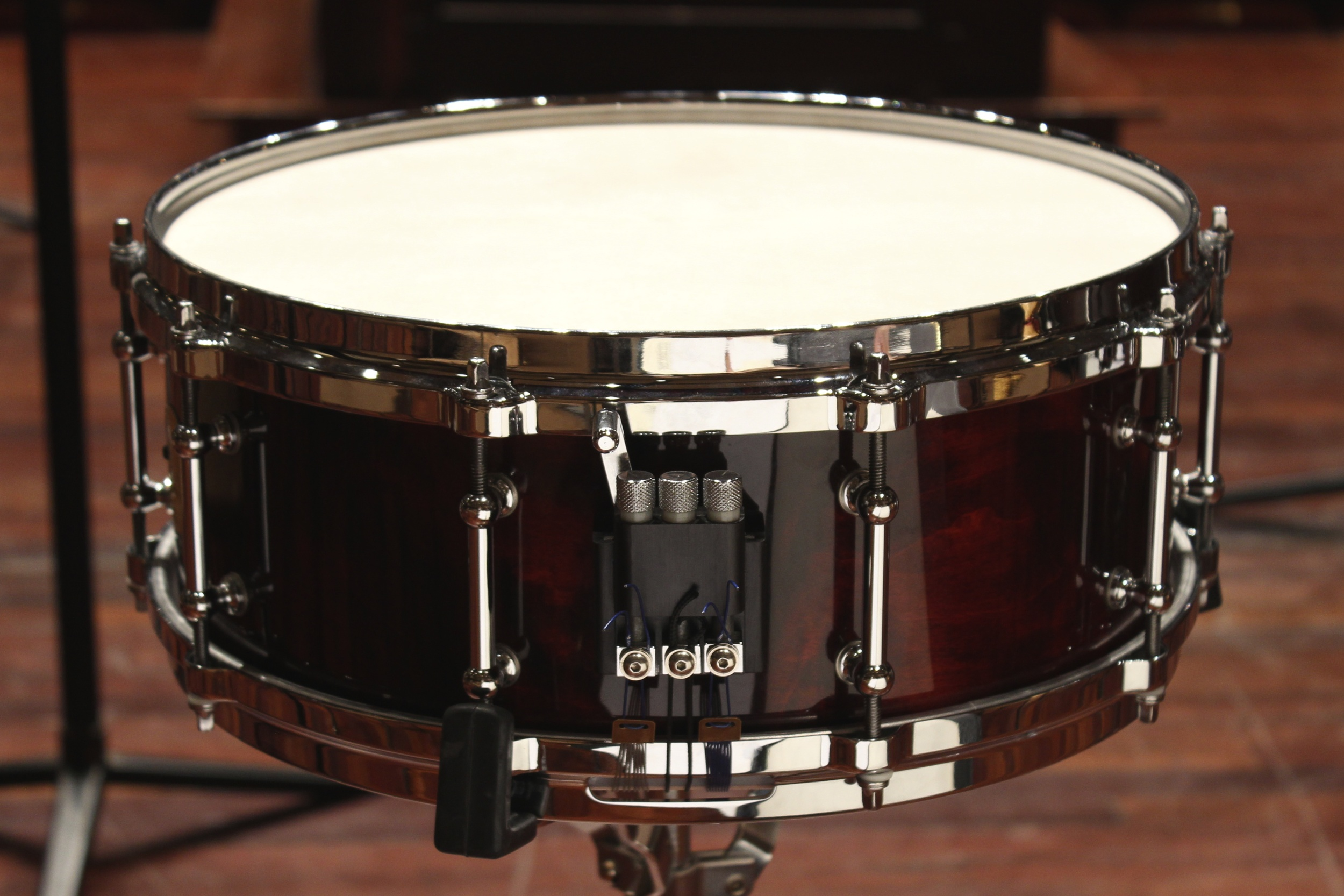 """Black Swamp 5.5"""" Solid Shell Maple Snare Drum"""