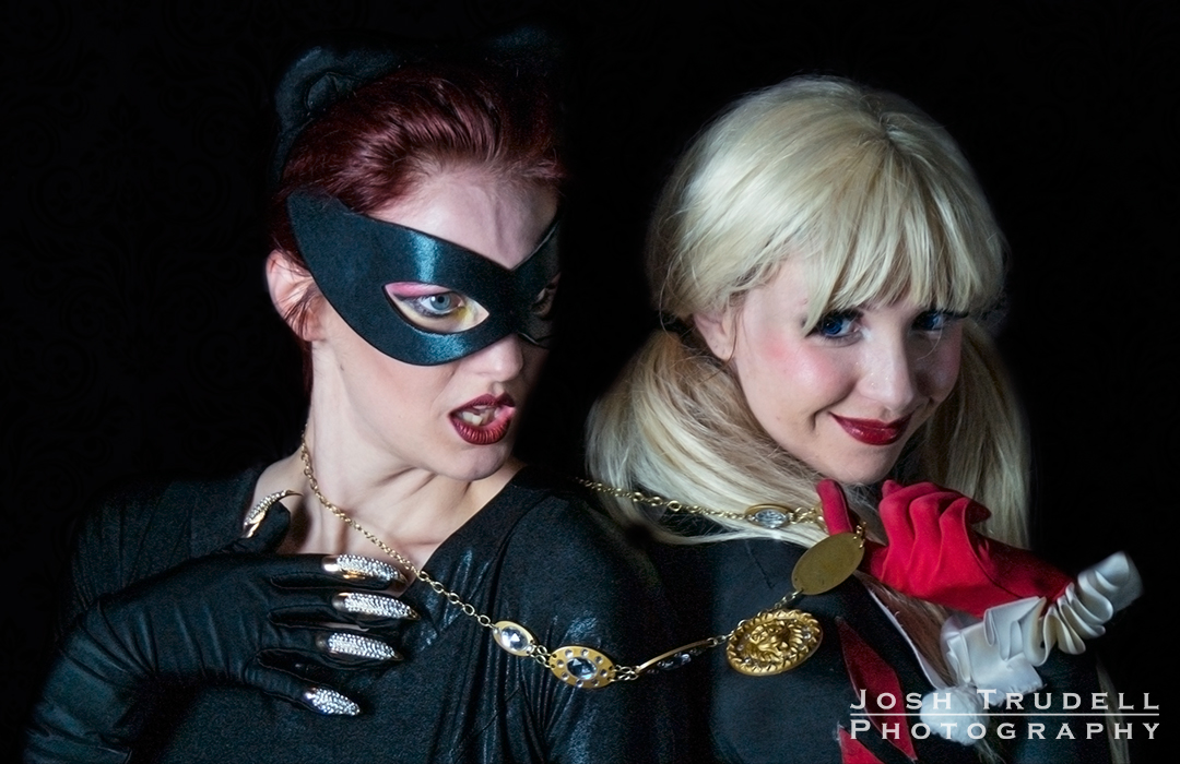 Catwoman and Quinn