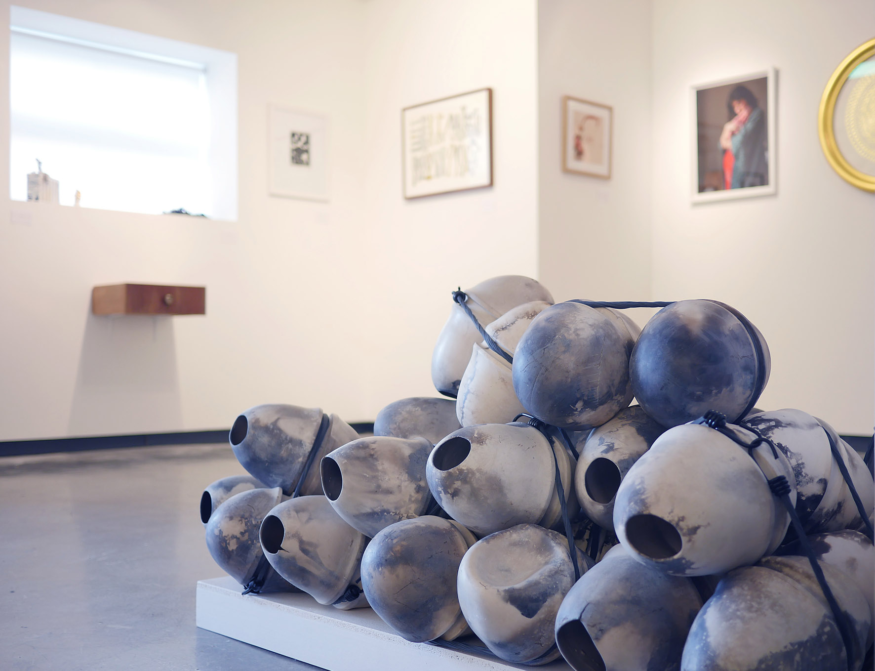 Exhibition view, Project AfterBirth, White Moose gallery, 2015, photo credit: Kris Jager
