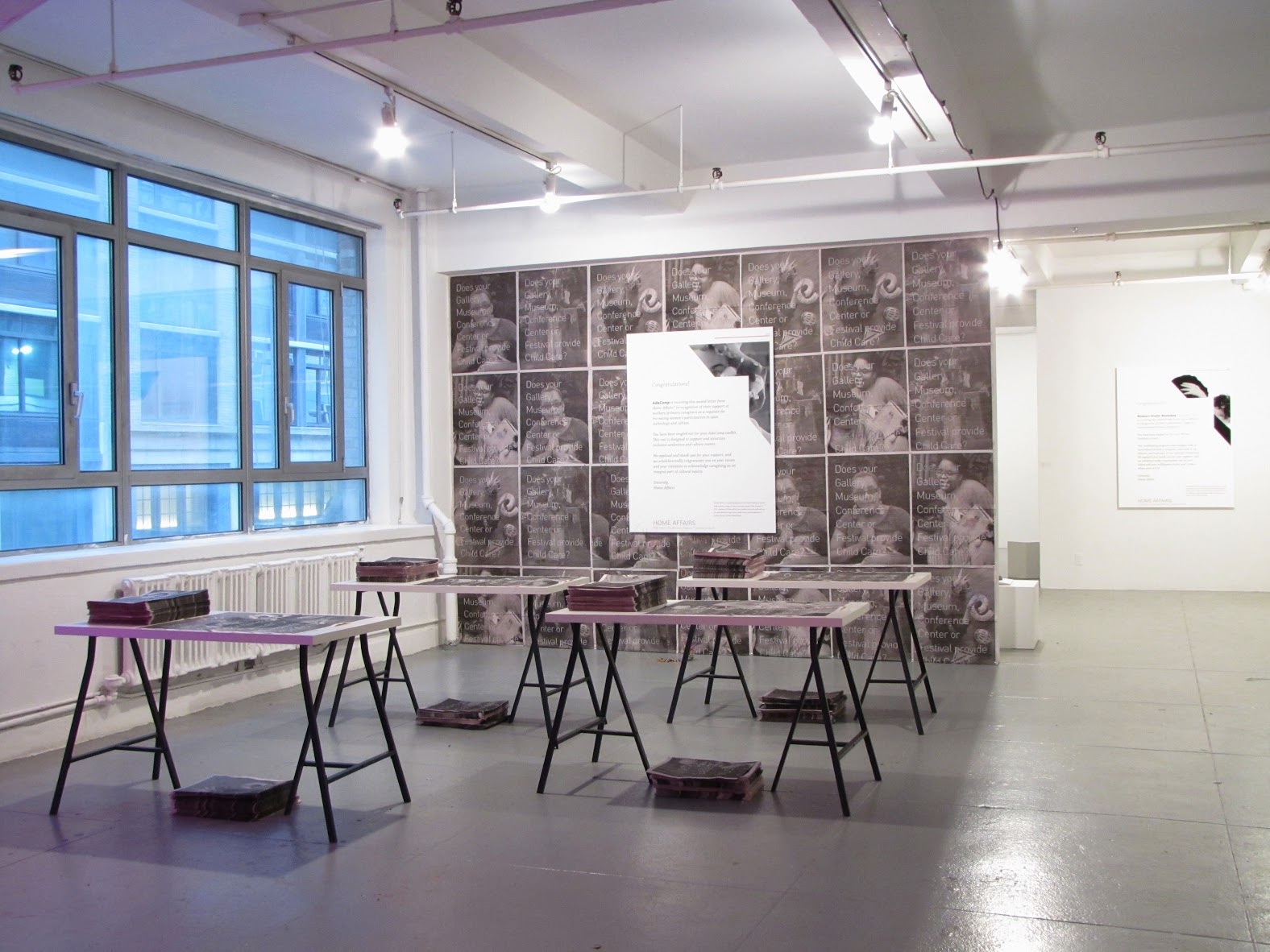 Home Affairs, And Everything Else, 2016, (installation view) Image courtesy of the EFA Project Space
