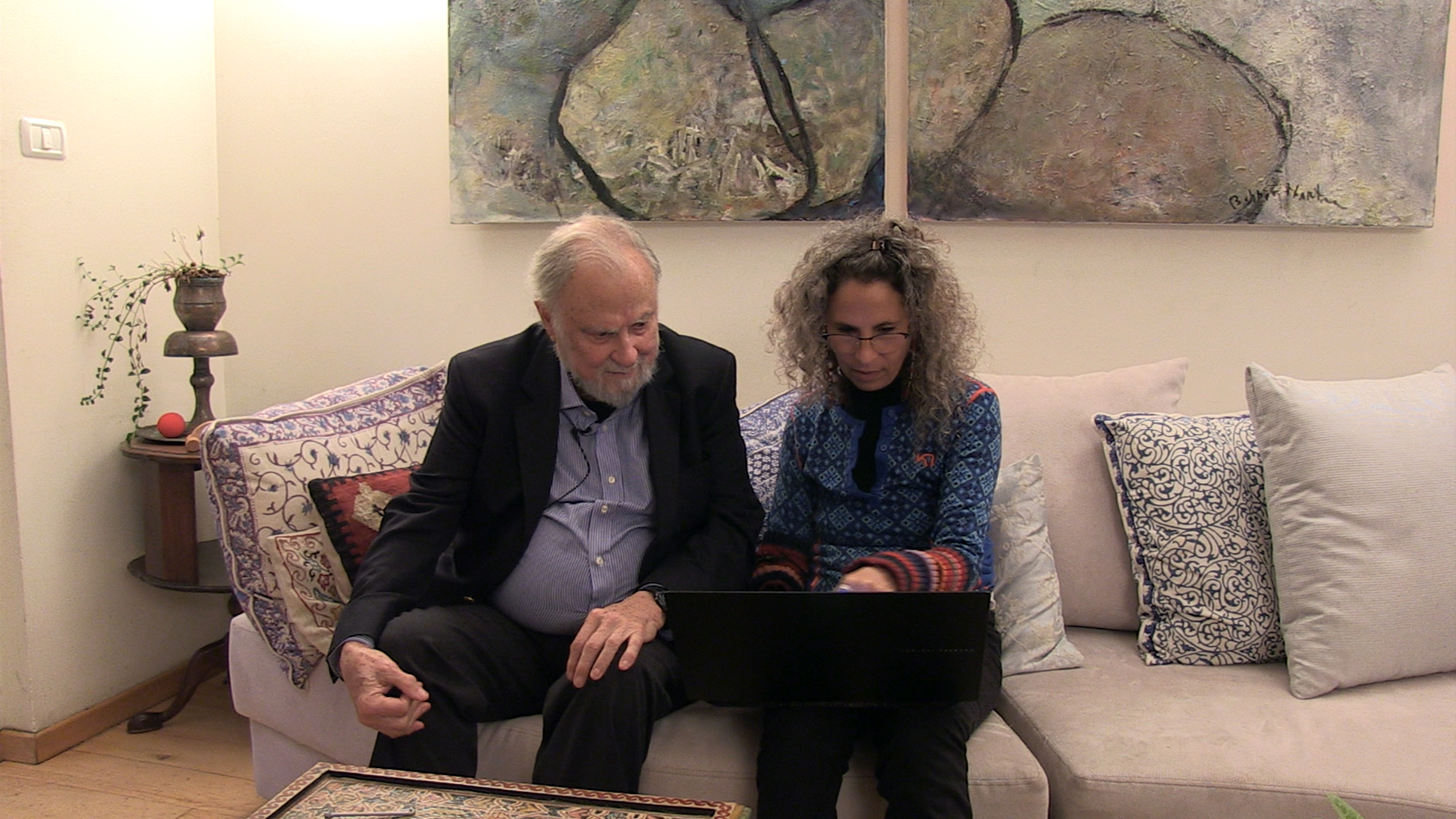 Dr. James Gilligan and Shira Richter