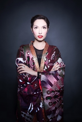 Dyana Gravina, Procreate Project Photo by Doris Himmelbauer Sisterhood Kimono by Diane Goldie