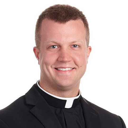 Fr. Jordan Berghouse NEW Associate Pastor - 967-3081 jberghouse@stme.church