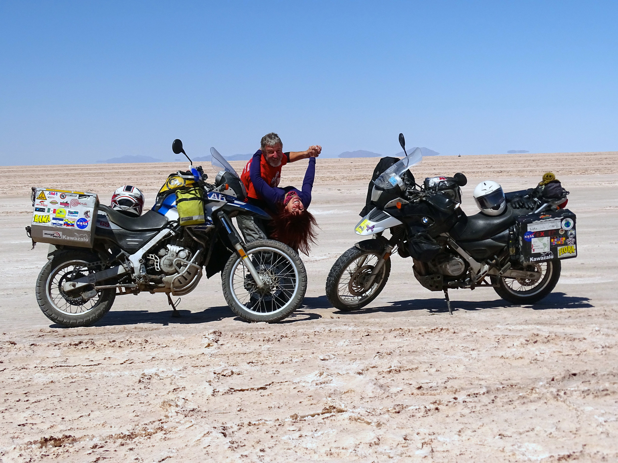 Learn more about our motorcycle trip here.