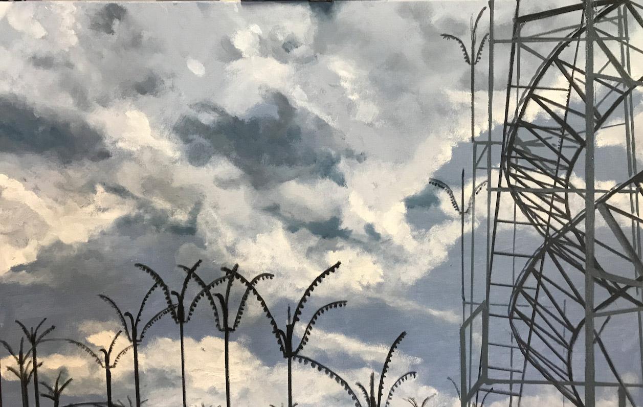 "Oil on Canvas  36"" X 24"""