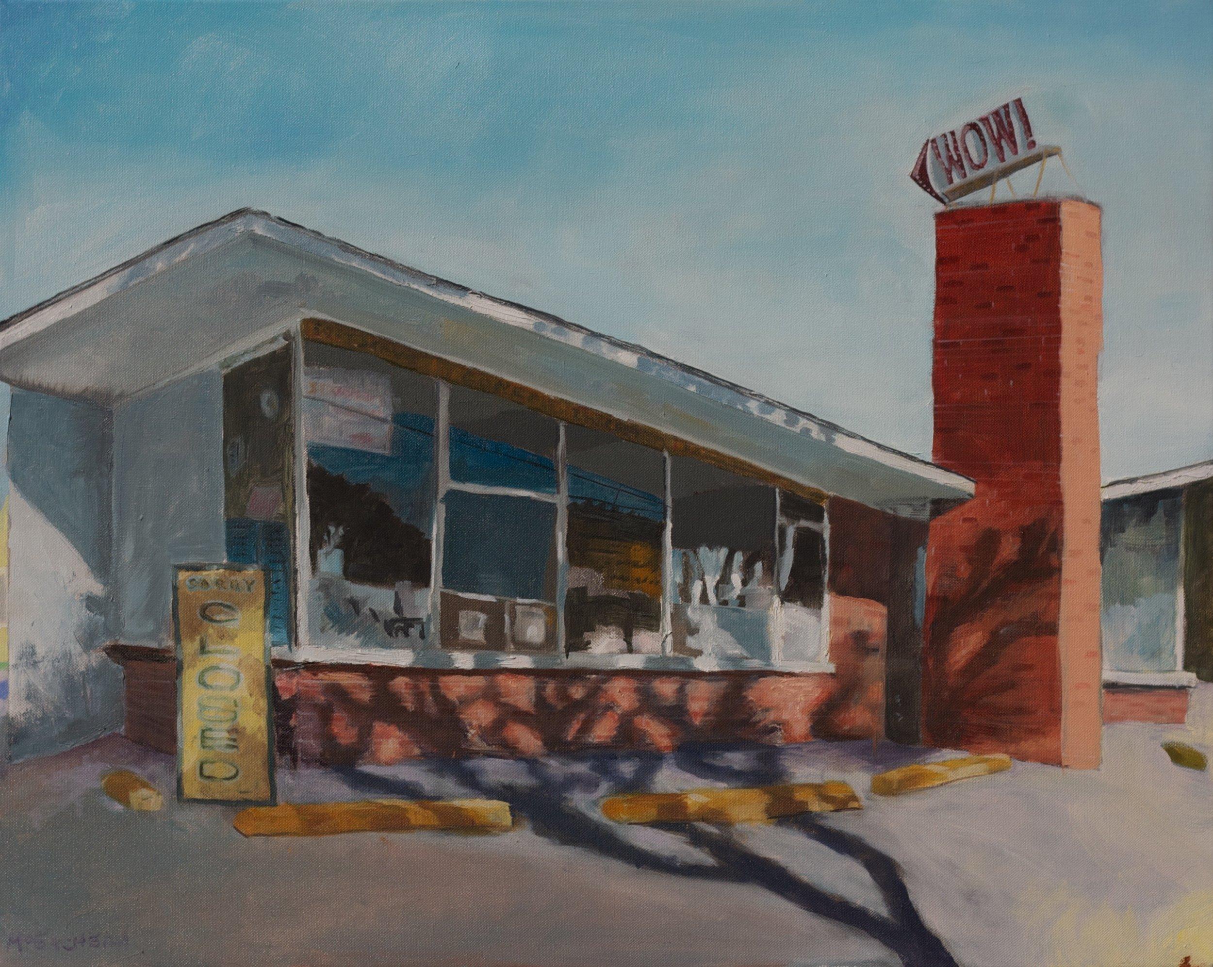 "Oil on Canvas 24"" X 30"""