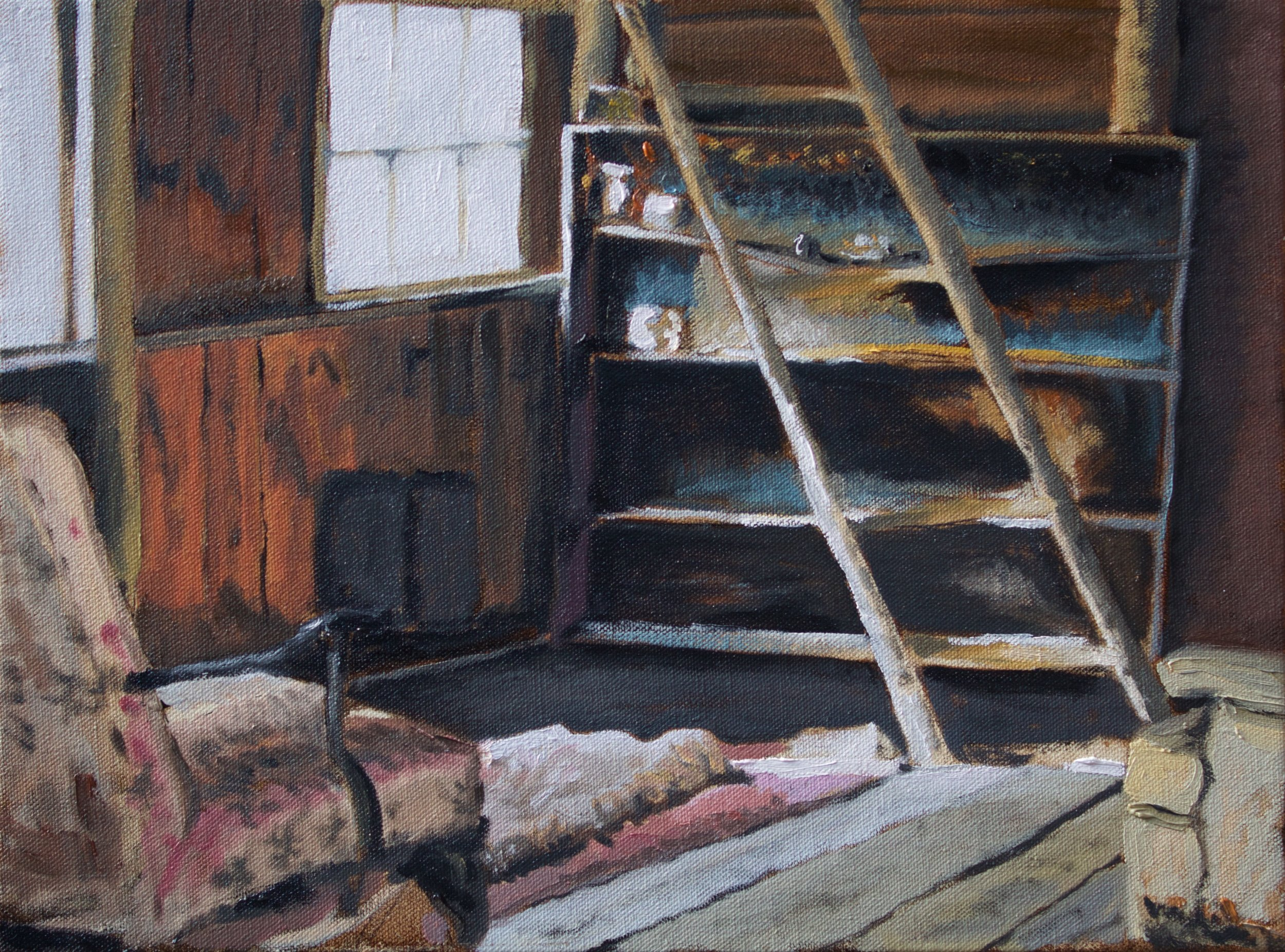 "16"" X 12"" Oil on Canvas"