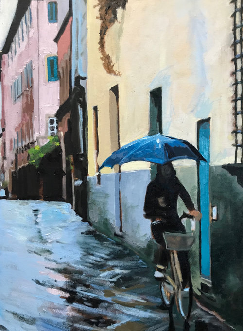 "18"" X 24"" Oil on Canvas"