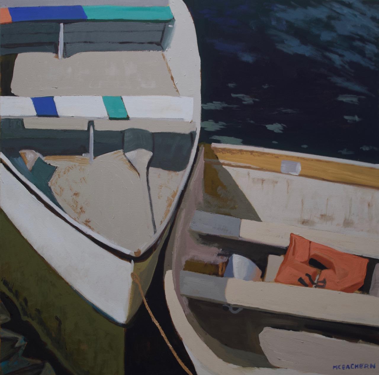 "Oil on Canvas  30"" X 30"""