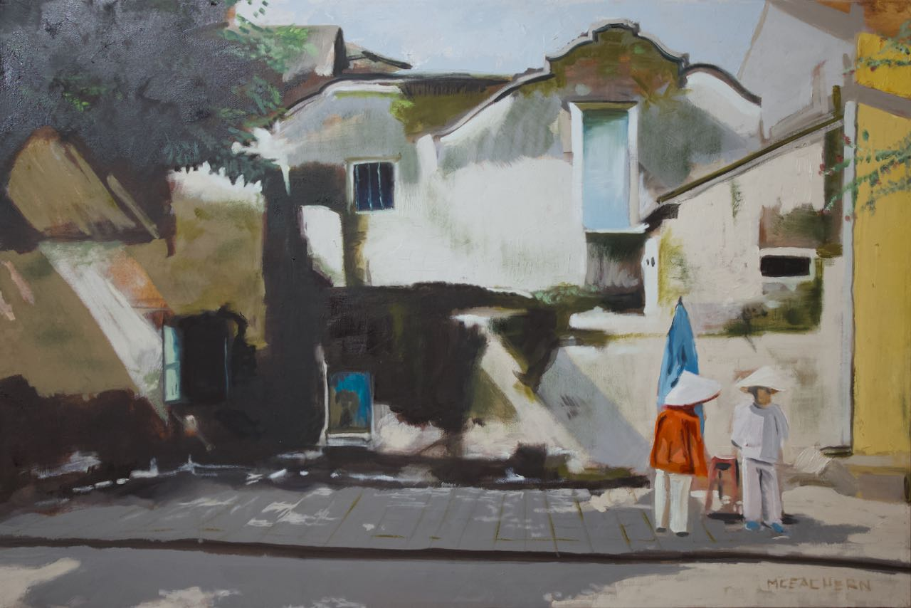 "Oil on Canvas  24"" X 36""   View VIETNAM collection >>"