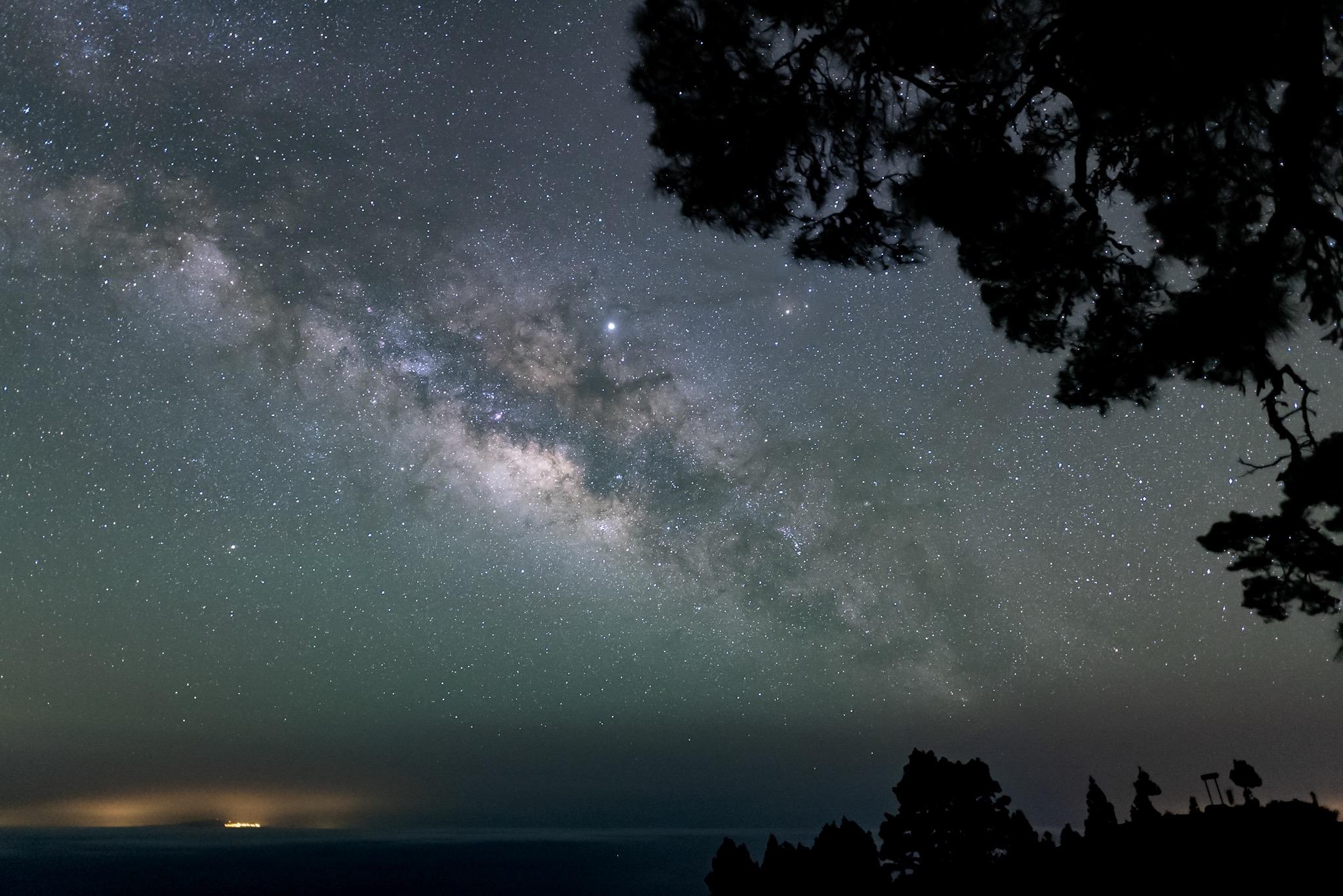 Canary Islands Milky Way