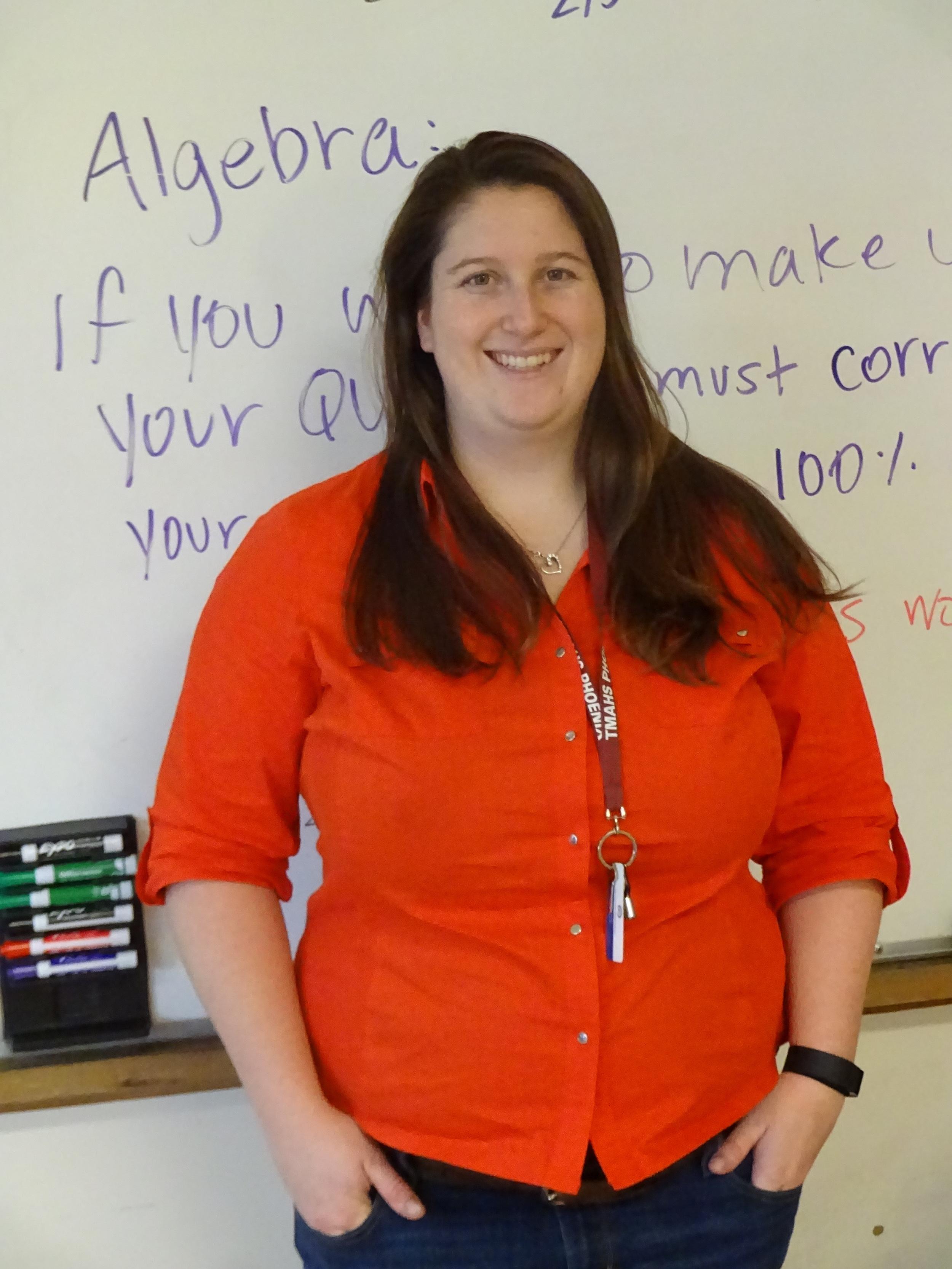 Courses: Algebra I, Geometry - Languages Spoken: English, Spanish