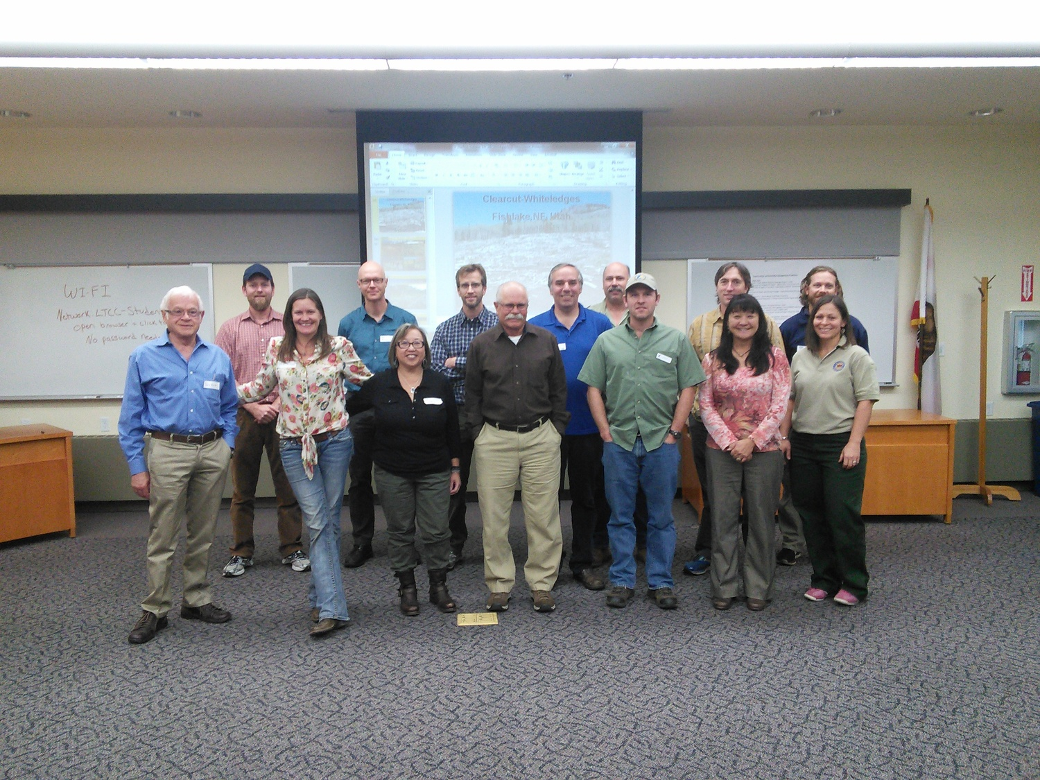 A special thanks to all of our presenters who traveled from near and far to share in this workshop